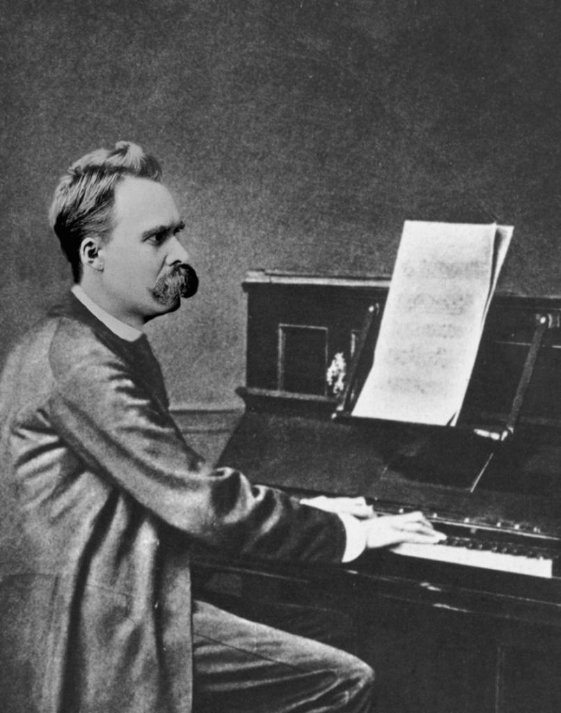 Nietzsche en el piano