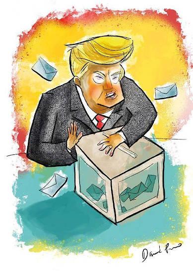 trump resguarda votos