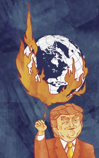 emergencia climatica y trump
