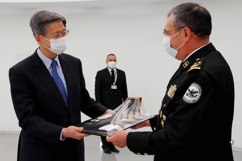 guardia nacional y japon
