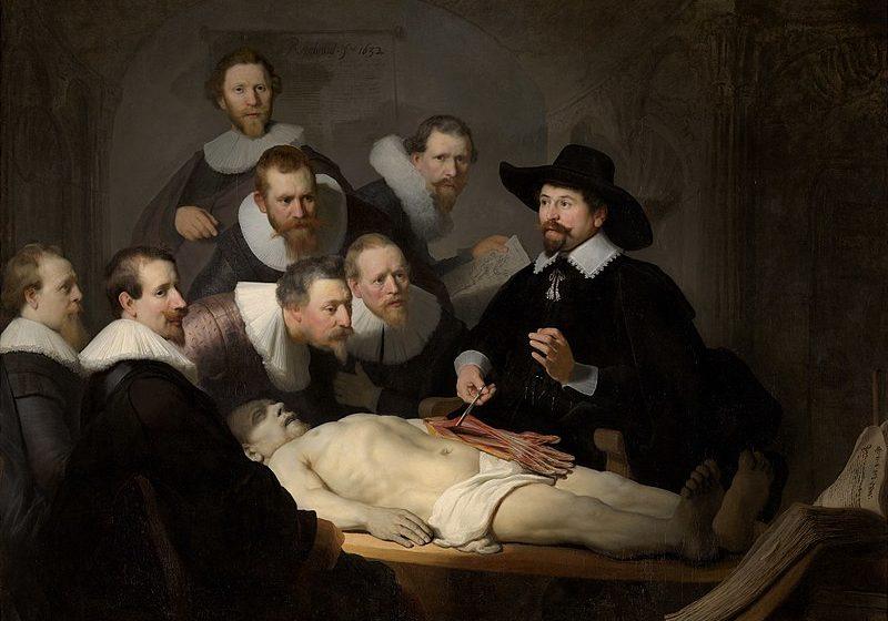 Rembrandt y leccion de anatomia