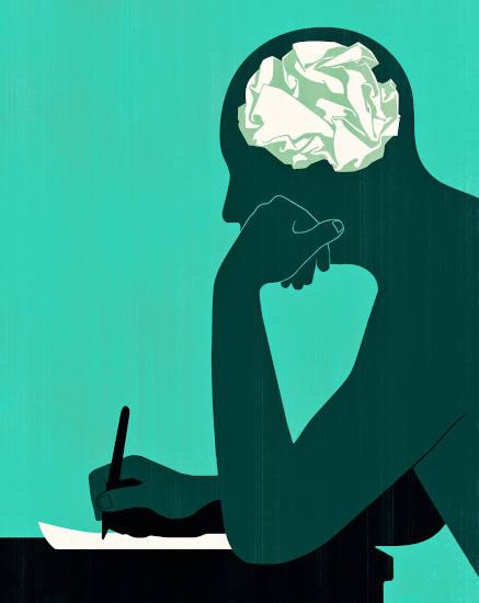 en la cabeza de un escritor