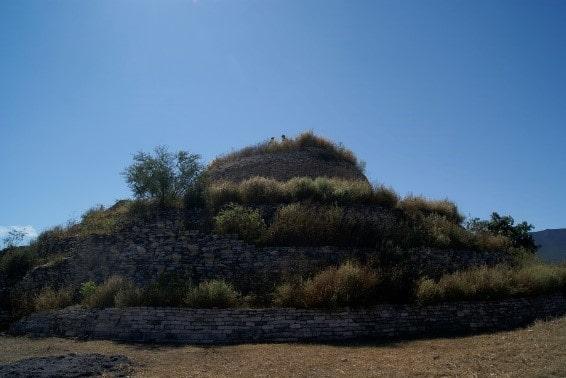 Pirámide de Tammapul en Tula, Tamaulipas