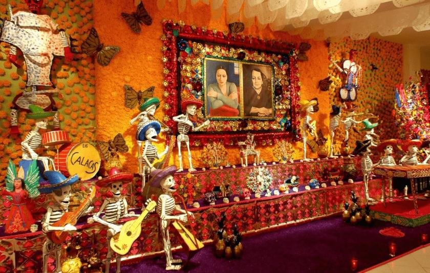 altar museo Dolores Olmedo