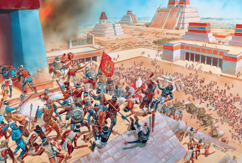 batallas, Templo de yopico, 1520