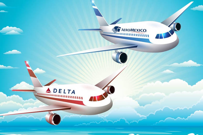 aeromexico delta