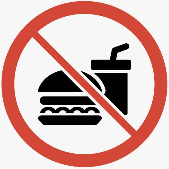 dejar de comer y beber