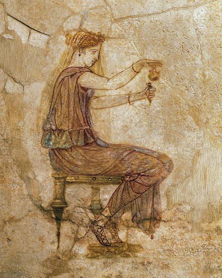 perfume en la antigua roma