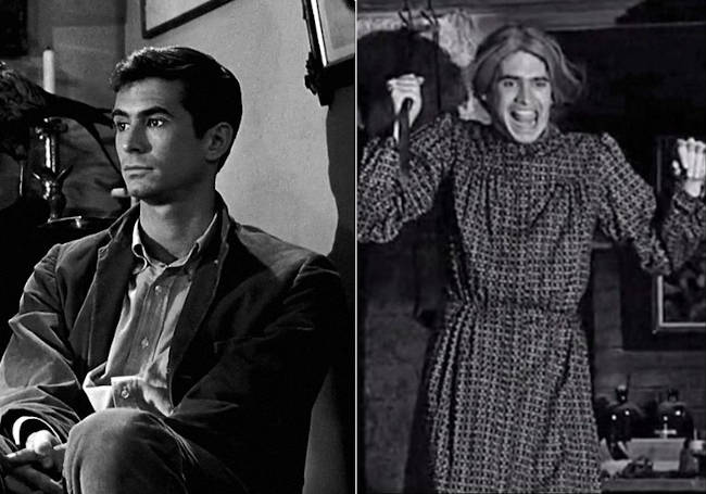 personalidad multiple Norman Bates