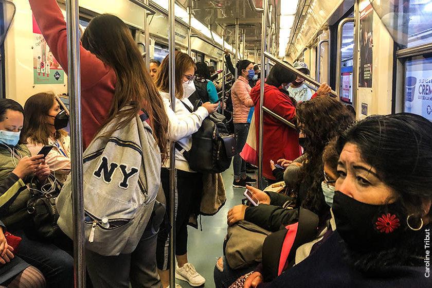 cubrebocas metro