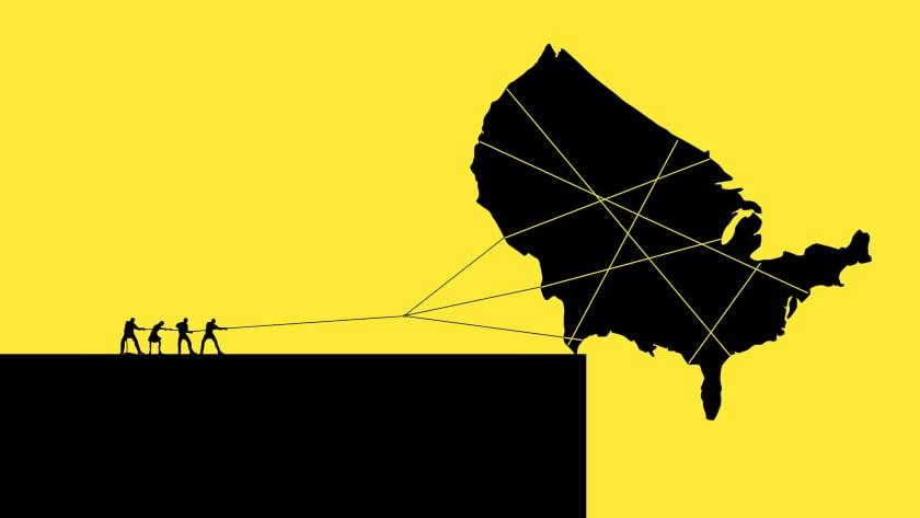 Estados Unidos en el abismo
