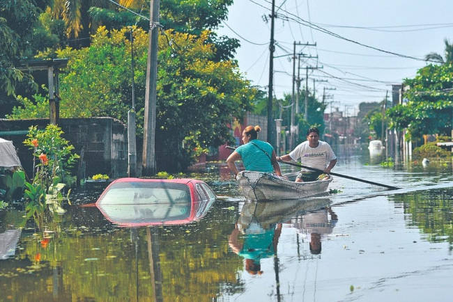 inundaciones en tabasco 2020