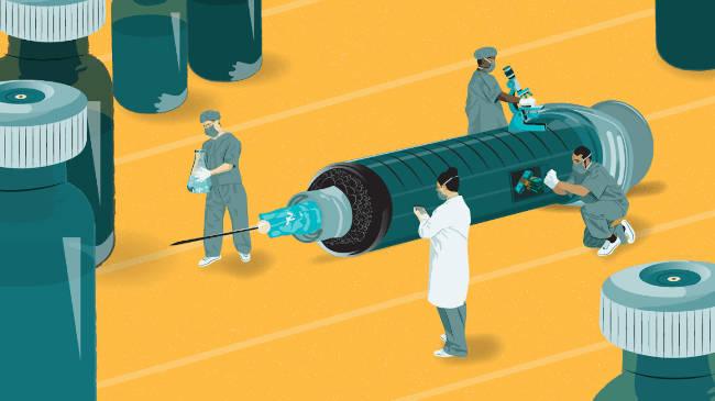 carrera de vacuna