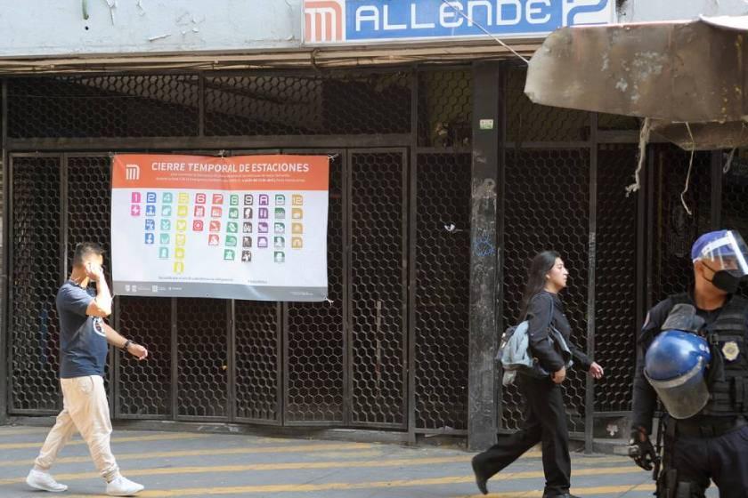 Estacion_Allende_cierre_COVID-19