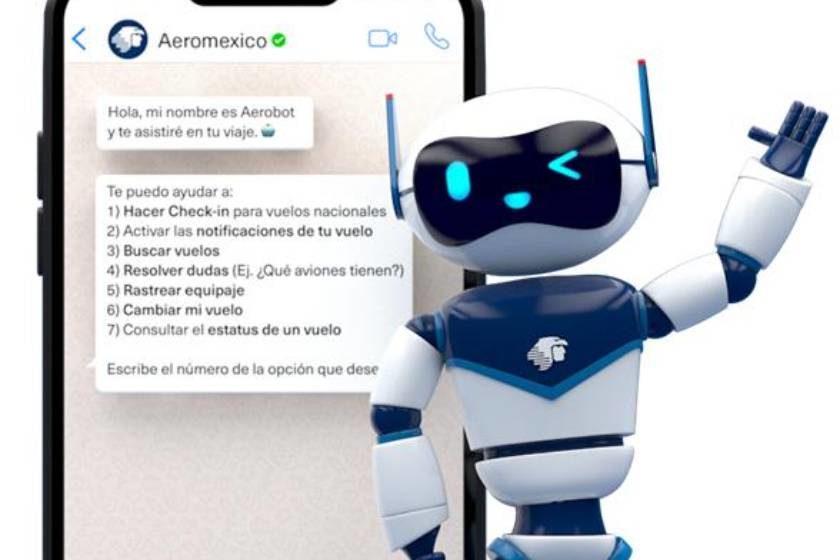 Aeroméxico_aerobot