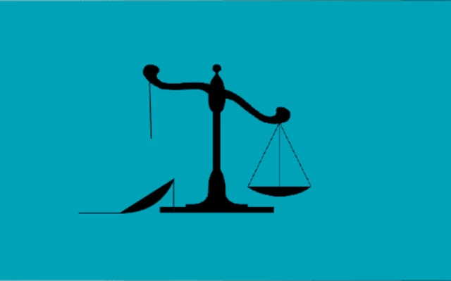 balanza desequilibro