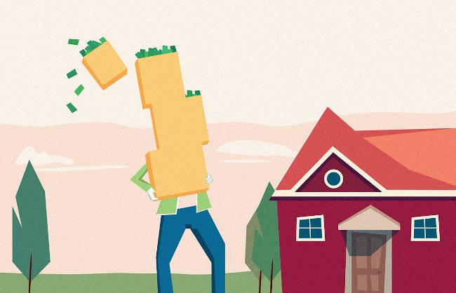 gasto en casas