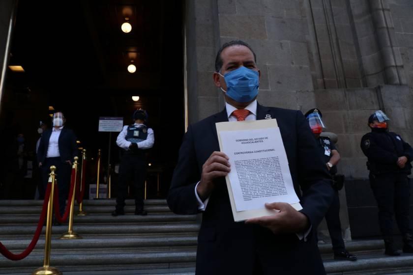 Gobernador de Aguascalientes_controversia_fideicomisos