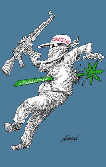 narcotrafico y marihuana