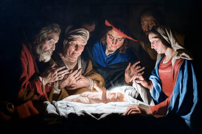 gracia de la navidad