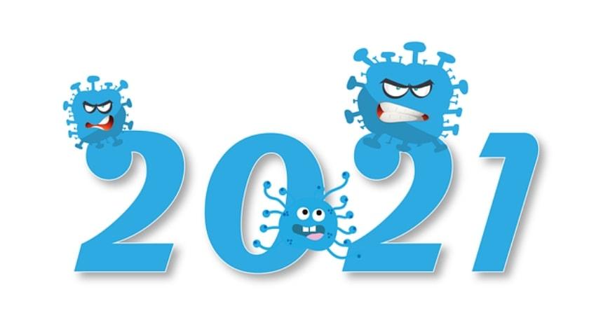 año nuevo 2021, pandemia