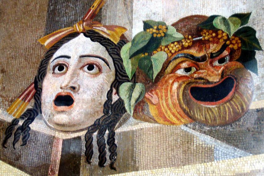 mascara de personaje