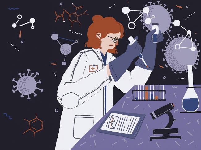 busca de vacuna