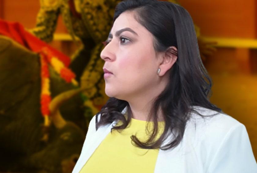 Claudia Rivera Vivanco, contra la tauromaquia