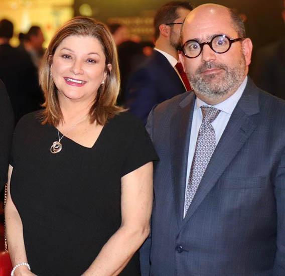 Claudia de Buen y Jose Mario de la Garza