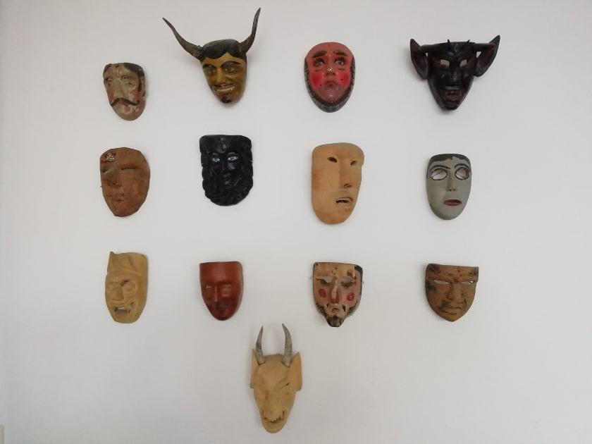 mascaras de madera, del mundo