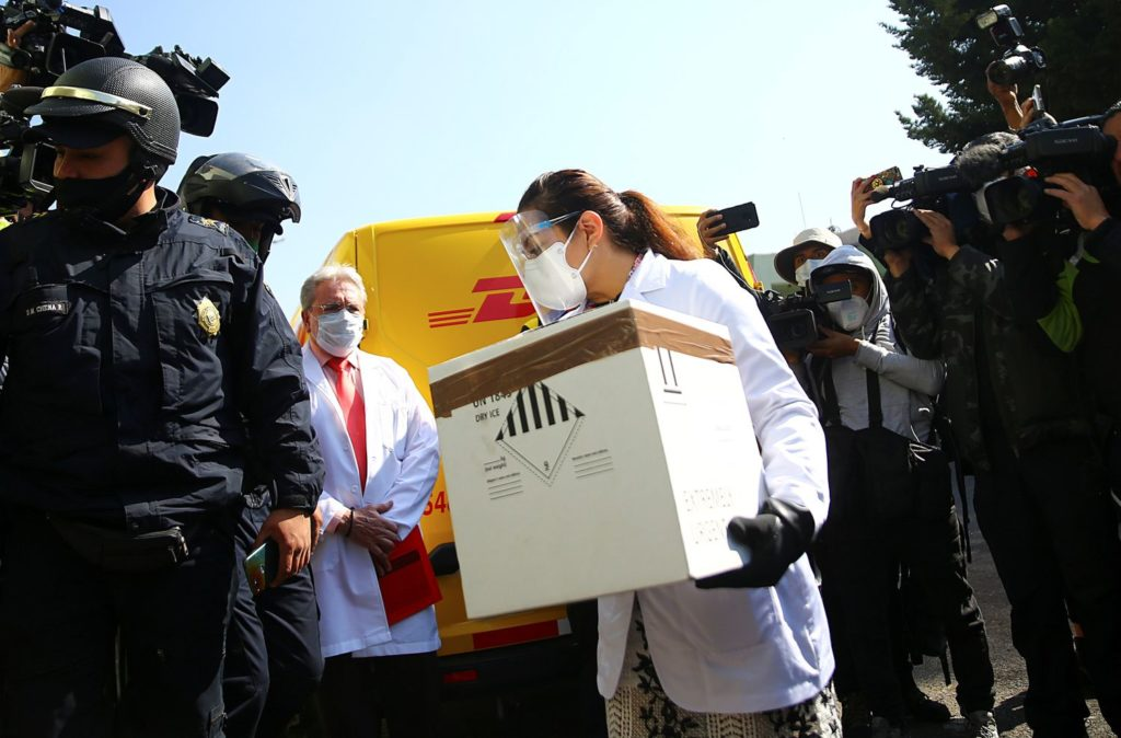 coronavirus México y compra