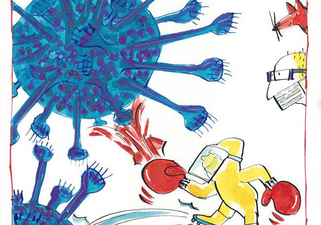 pandemia y alicia