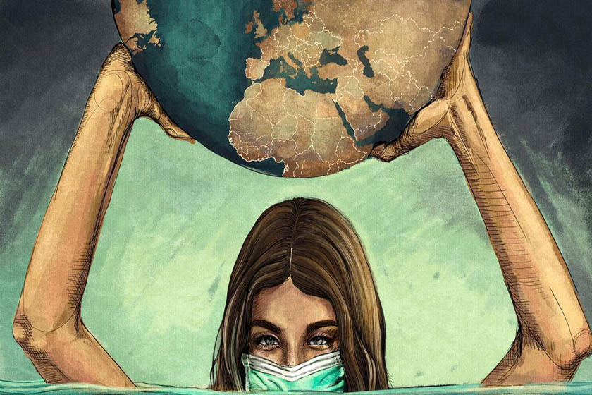 pandemia auge