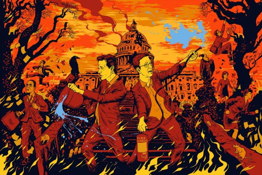 fuego al capitolio, Trum