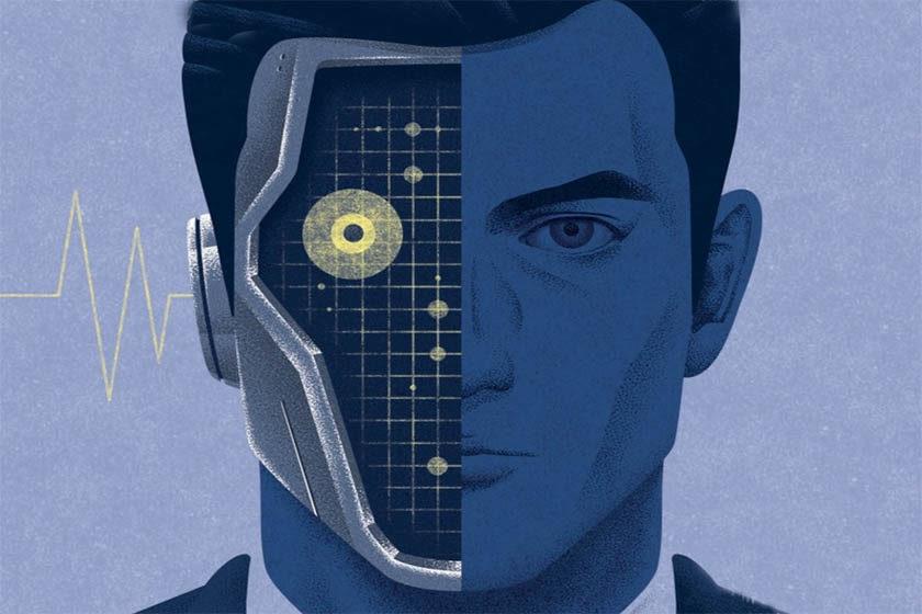 hombre robot