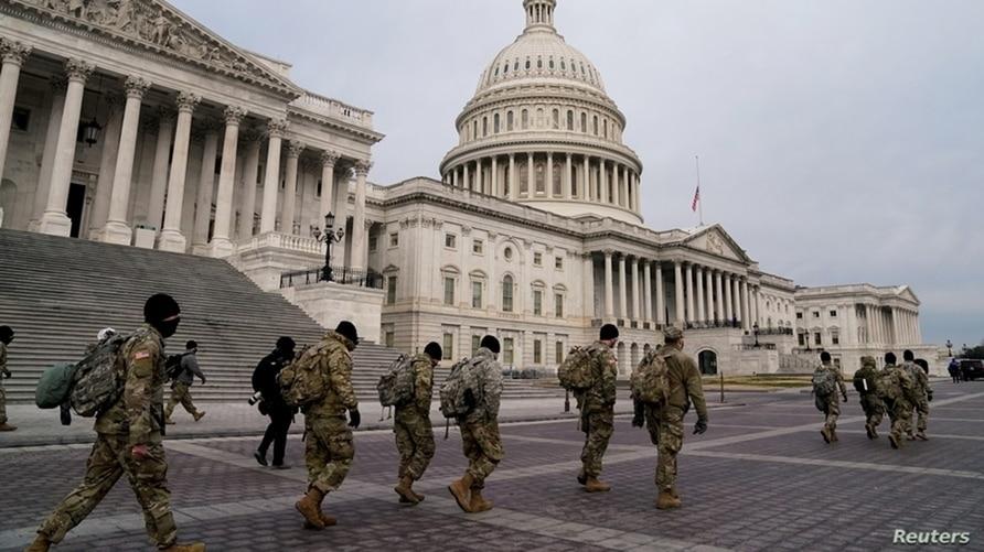 Seguridad en investidura de Joe Biden como presidente