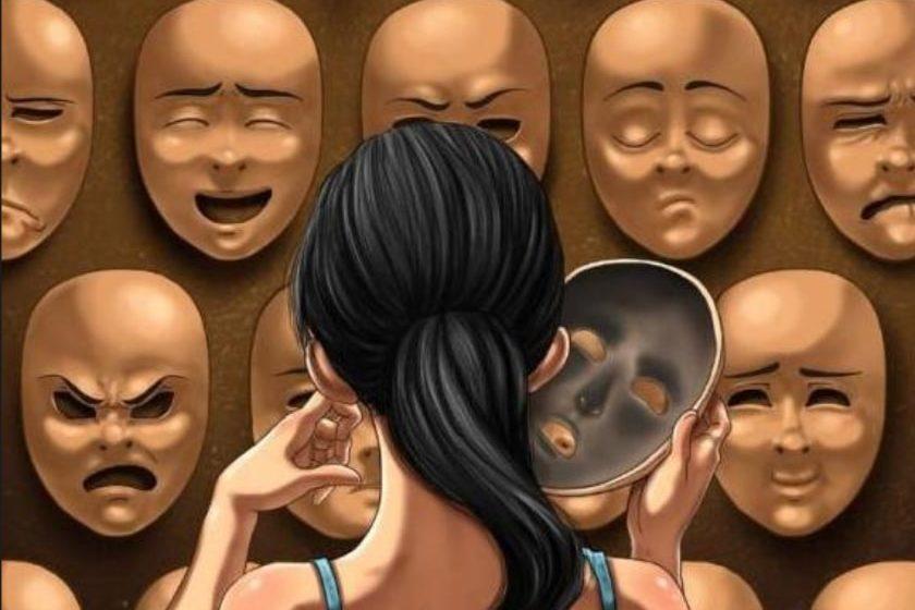 mascara y personalidad