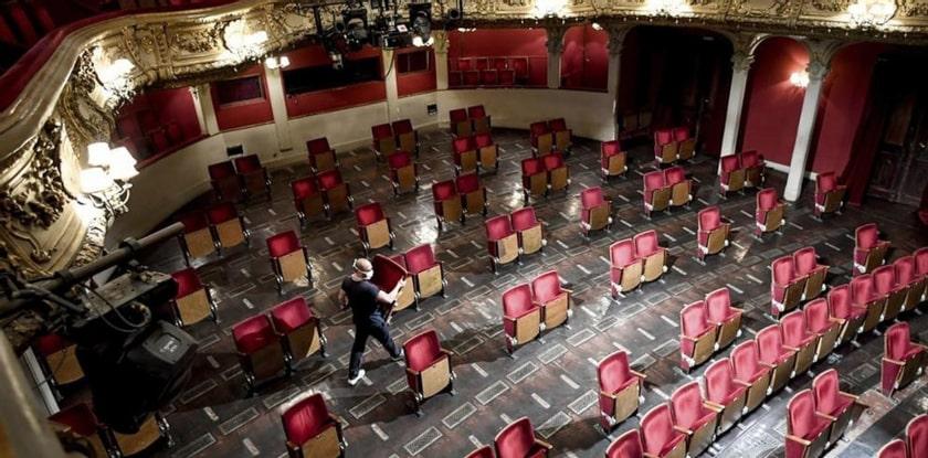 teatros con covid