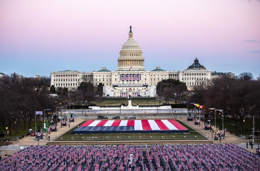 toma de posesión Biden, Capitolio