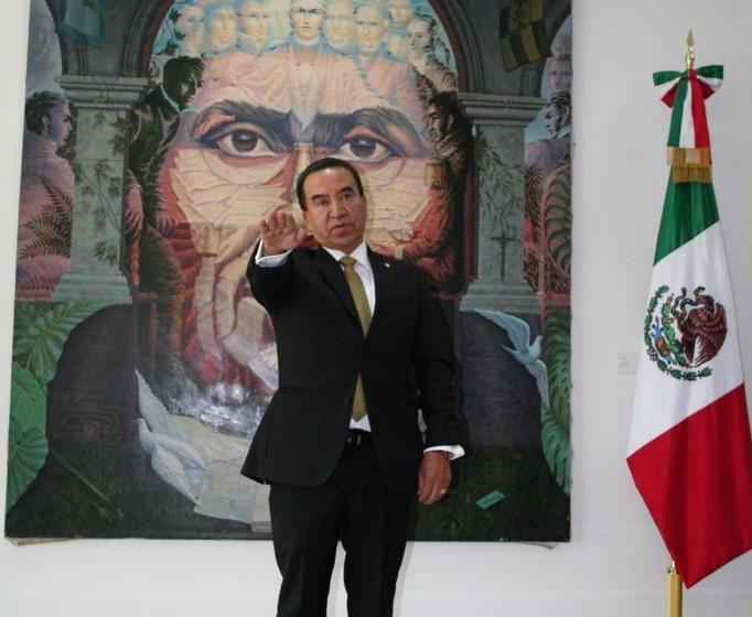 Rufino León Tovar nombrado Magistrado presidente de la primera sala del TFCA
