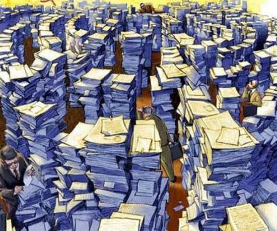 burocracia mexicana