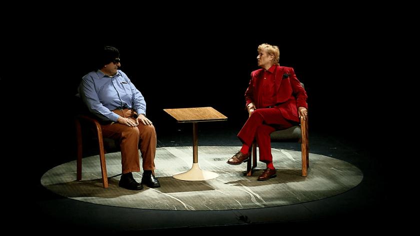 Arrepentidos protagonizada por Margarita Sanz y Alejandro Calva en el Teatro Helénico