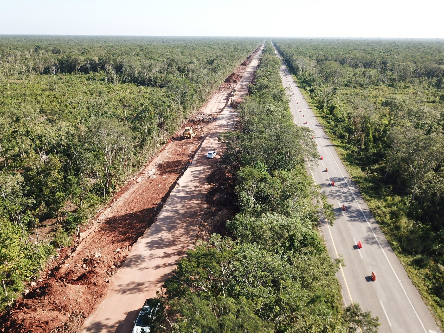 Tribunal en Yucatán confirma suspensión provisional de obras del Tren Maya