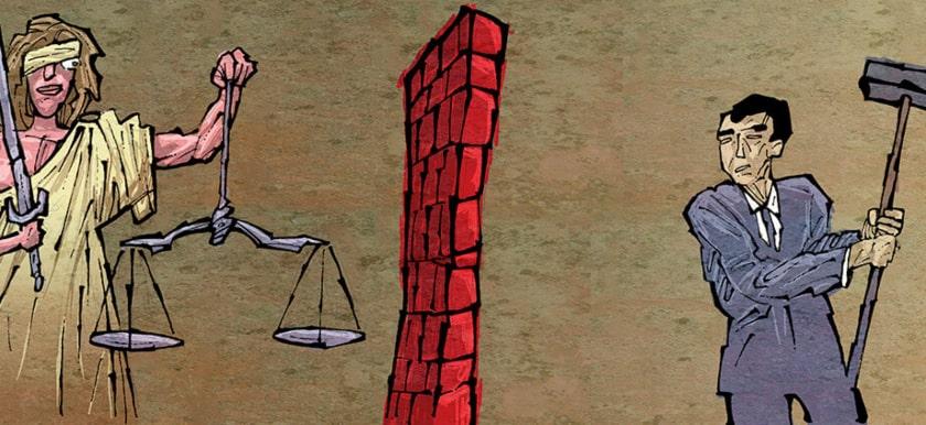 constitución, democracia, justicia