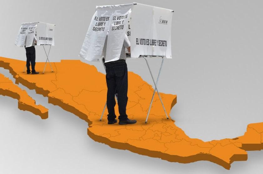 elecciones Mexico, voto secreto
