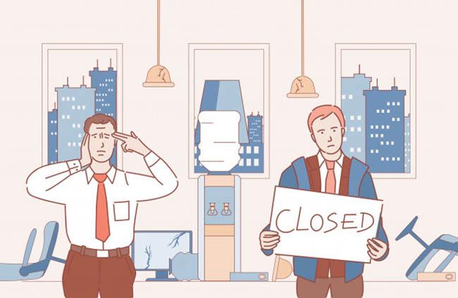 negocios cerrados