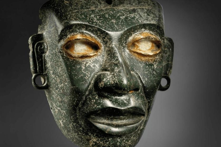 Máscara teotihuacana, subasta Christie's