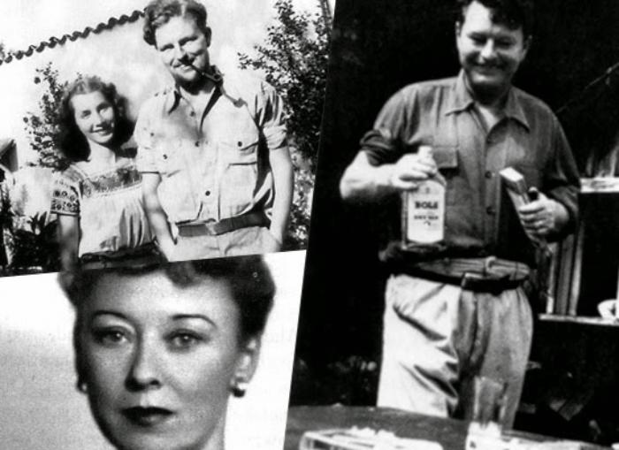 Malcolm Lowry y su esposa Margerie Bonner Lowry
