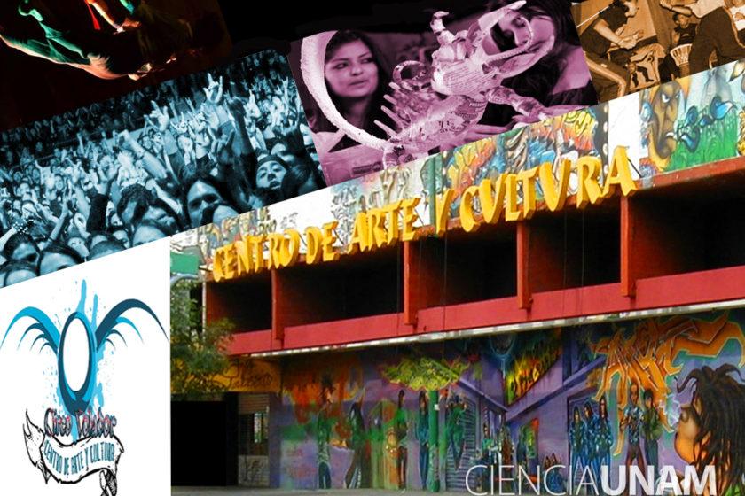 Nueva galería de Arte Circo Volador de la UNAM