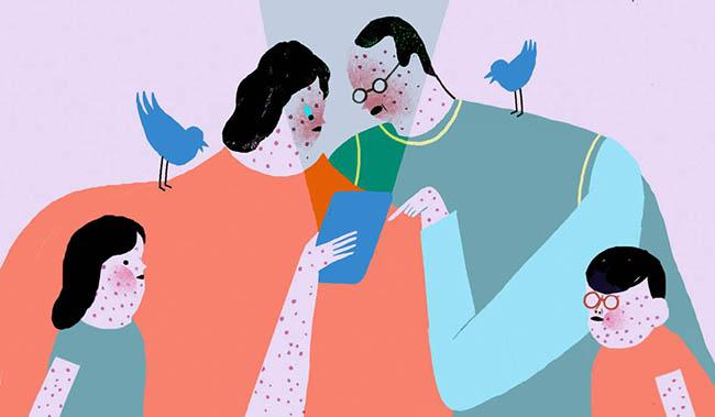 vacunacion redes sociales